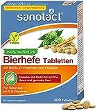 sanotact Bierhefe Tabletten • 400 Tabletten • 100%...