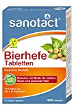sanotact Bierhefe Tabletten - Nahrungsergänzungsmittel mit 6...